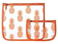 Echo Design Women's Pineapple Clearly Cool Pouch White Handbag