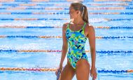 Funkita Ladies Diamond Back One Piece Sand Storm