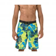 Speedo Men Gradated Floral E-Board 21' Vibrant Yellow