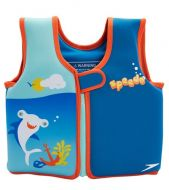 Speedo UV Printed Neoprene Swim Vest (Pink & Blue)